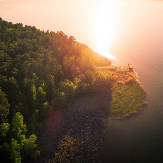 Садовка с воздуха. Фотография Данилы Пахомова.