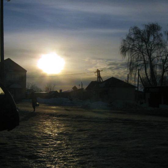 центр зимой фотографии старая майна ульяновской области