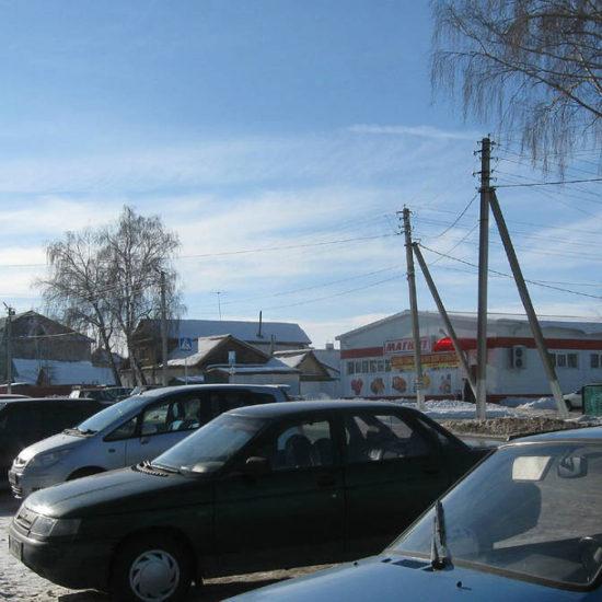 стоянка около сквера фотографии старая майна ульяновской области