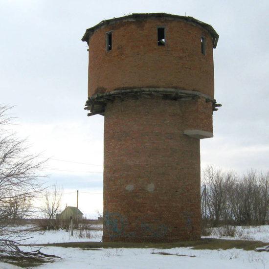водонапорная башня Фотографии Старая Майна Ульяновской области