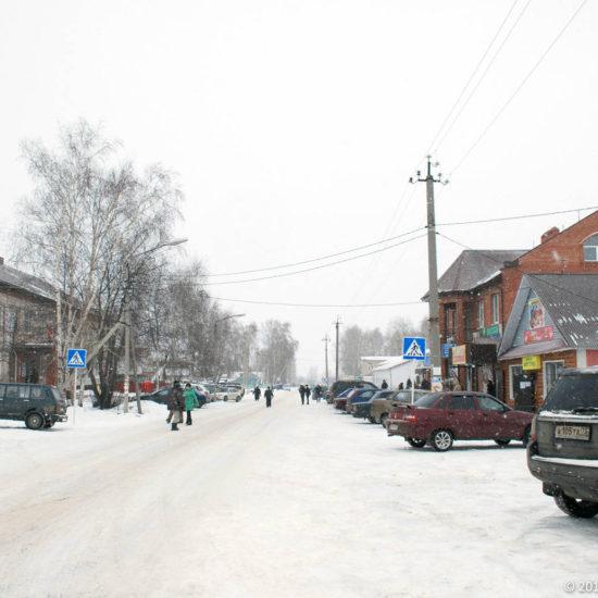 Центр улица Гоголя Фотографии Старая Майна Ульяновской области