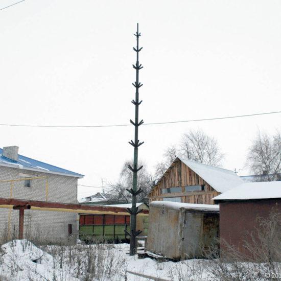 бывшая заводская елка Фотографии Старая Майна Ульяновской области