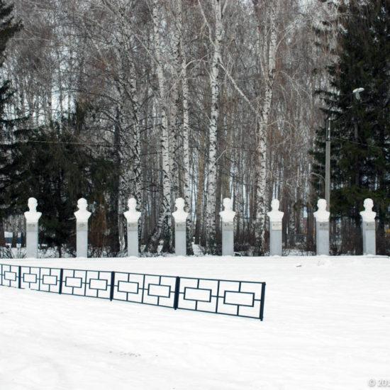 аллея героев Фотографии Старая Майна Ульяновской области