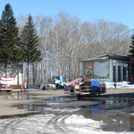 центральная площадь ленина атракционы фотографии старая майна ульяновской области
