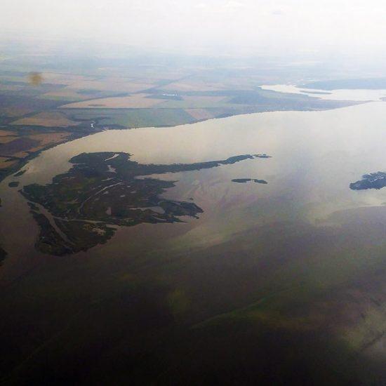 Головкинские острова с воздуха
