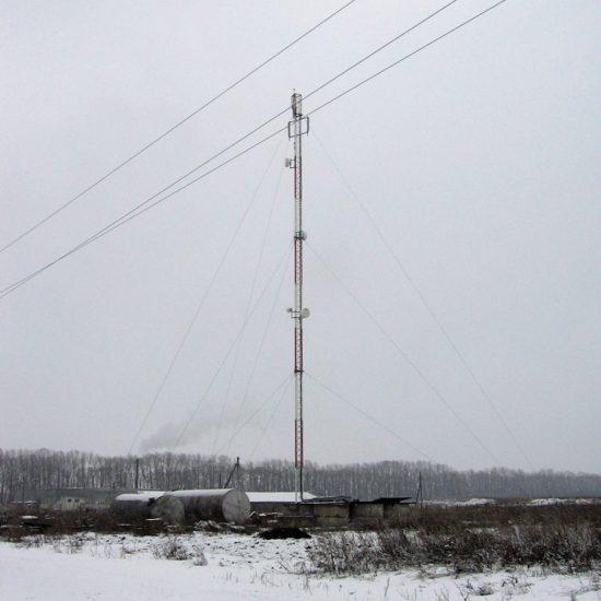 Вышка сотового оператора Мегафон