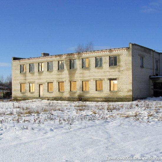 Бывшее здание редакции газеты в Старой Майне