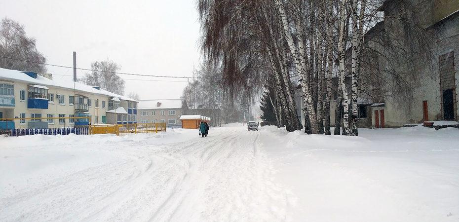 Снегопад в Старой Майне