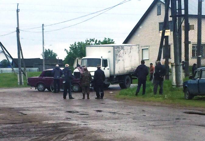 ДТП в Красной Реке Старомайнского района