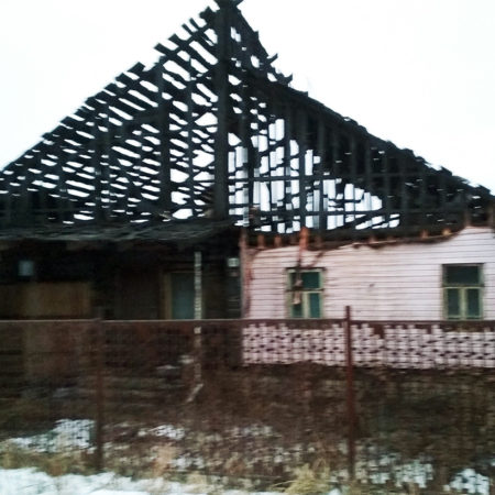 Потушен пожар на улице Пушкина