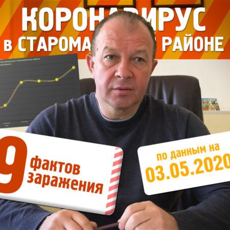 Коронавирус в Старой Майне и Старомайнском районе на 03.05.2020