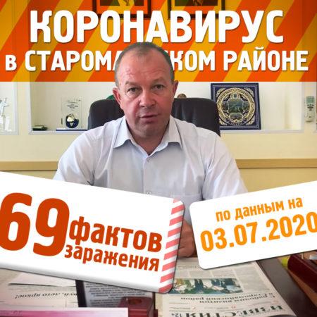 Новости по коронавирусу в Старомайнском районе